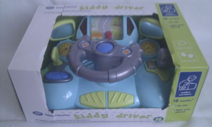 Adorable My 1st Kiddy Driver Activity Light up & Sound Toy